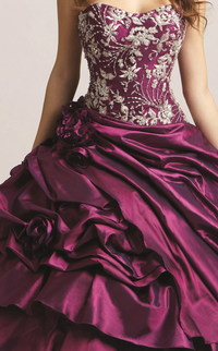 Fabulous Taft Tiered Rock-Ballkleid (PPD00A52)