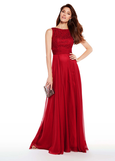 21ab3339cdf9 Exquisite Silk Like Chiffon Bateau Neckline A-line Mother Of The Bride  Dresses With Lace